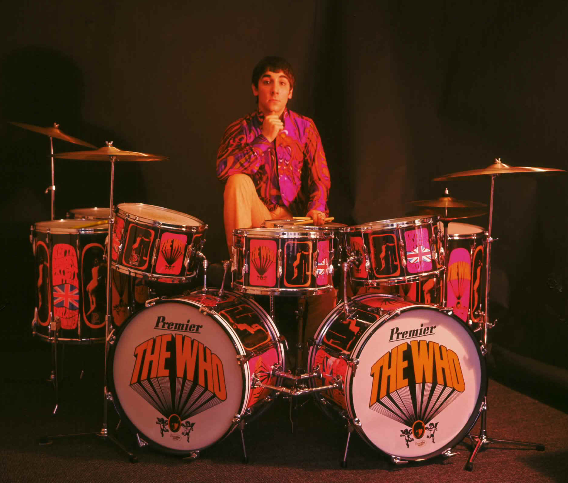 "Keith's ""Pictures Of Lily"" Drum Kit"